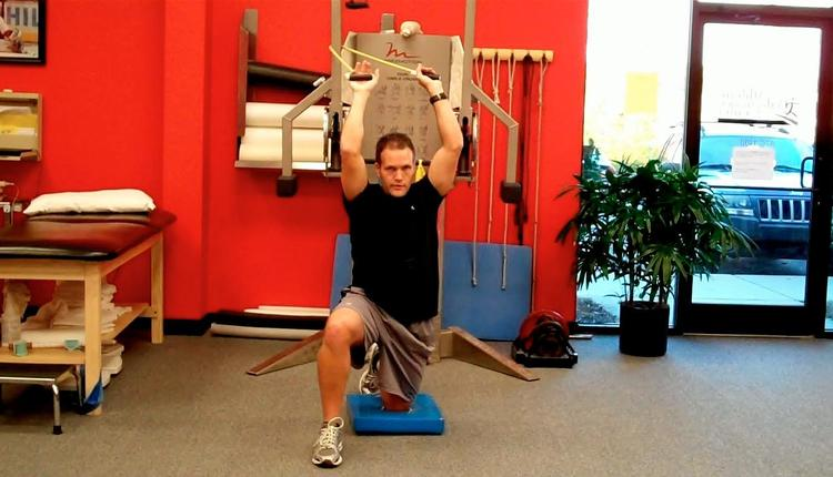 Assisted Hip Flexor Stretch Start
